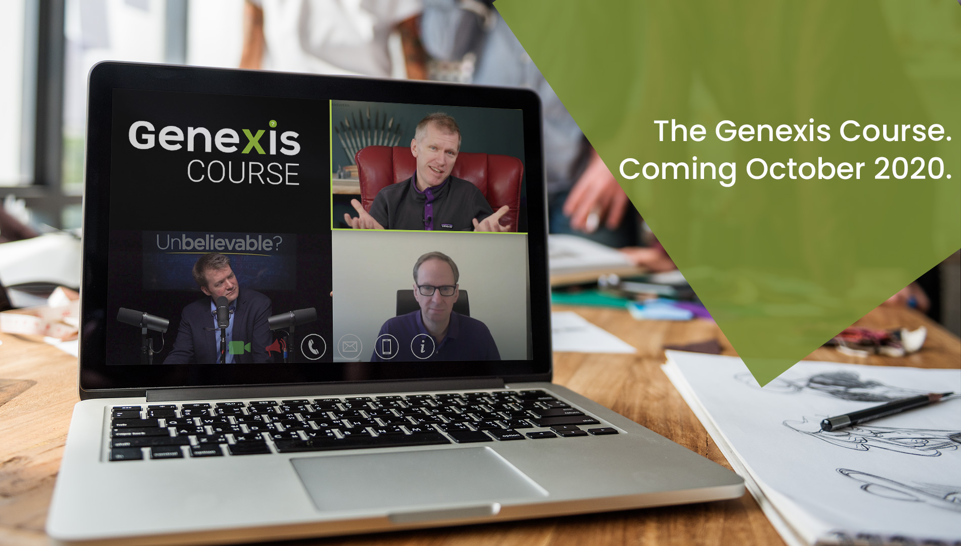 *What is the Genexis Course?*100% center